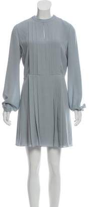 Christian Dior Silk Pleated Mini Dress