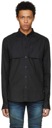 Balmain Black Side Sill Shirt