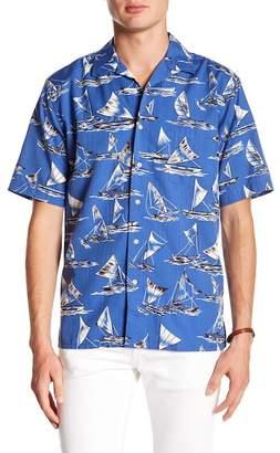 Reyn Spooner Holo Kiki Sail Print Classic Fit Shirt