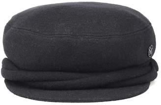 Maison Michel New Abby cotton-blend hat