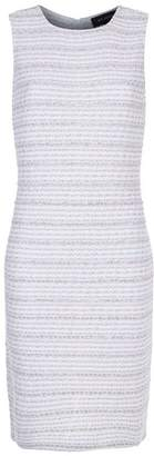 St. John Textured Stripe Dress