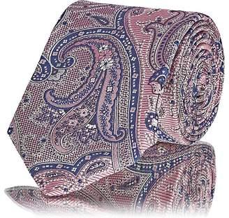 Barneys New York Men's Paisley Silk Jacquard Necktie