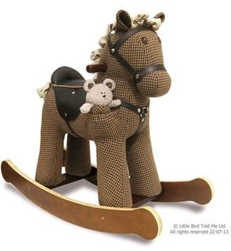 Infant Little Bird Told Me Rocking Horse & Stuffed Animal $240 thestylecure.com