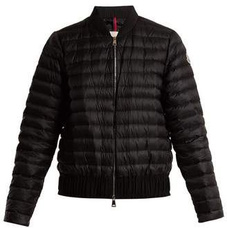 Moncler - Barytine Quilted Down Bomber Jacket - Womens - Black