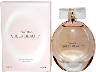 Calvin Klein Sheer Beauty Women's 3.4Oz Eau De Toilette Spray