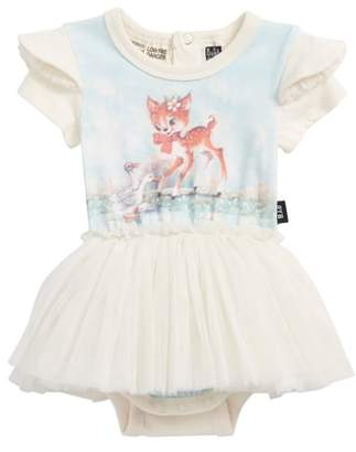 Rock Your Baby Doe a Deer Circus Bodysuit Dress