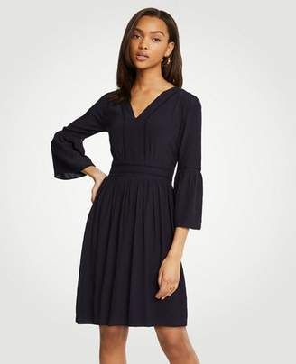 Ann Taylor Cutout Flare Sleeve Dress