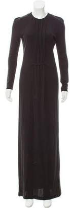 Calvin Klein Collection Long Sleeve Evening Dress