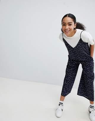 Noisy May Star Print Jumpsuit