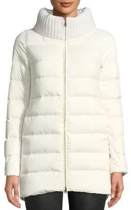 Herno Wool & Down Combo Puffer Coat