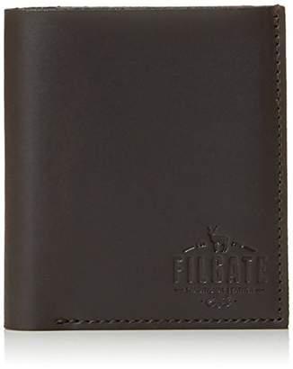 Filgate Mens Genuine Leather Wallet with Vertical Card Holder