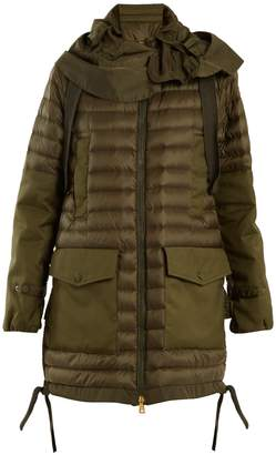 Moncler Cyanite quilted down jacket