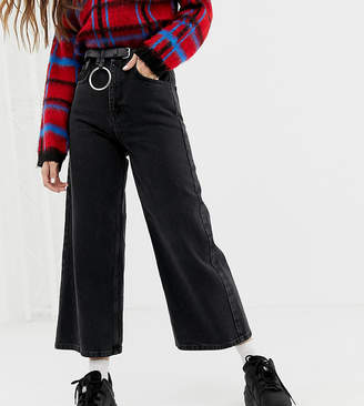 Reclaimed Vintage The '93 wide leg jeans in washed black
