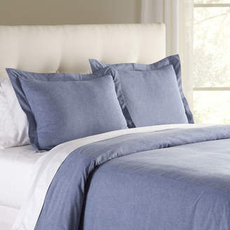Birch Lane Jackie Chambray Duvet Cover