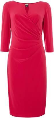 Lauren Ralph Lauren Hardware detail 34 sleeve jersey dress