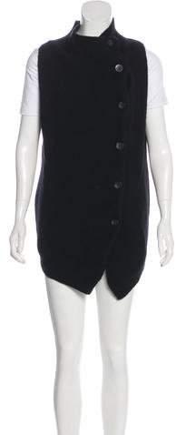 Brochu Walker Cashmere Mock Neck Vest