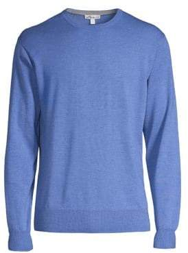 Peter Millar Crown Soft Merino Wool& Silk Sweater