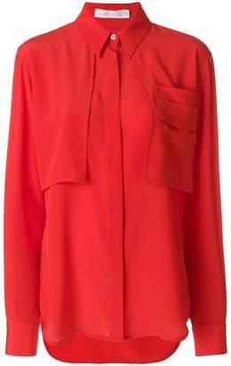 Victoria Beckham chest pockets shirt a