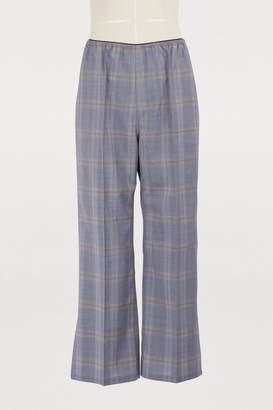 Sofie D'hoore Pica wool wide-leg pants
