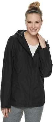 ZeroXposur Women's Darlene Hooded Packable Hard Shell Jacket