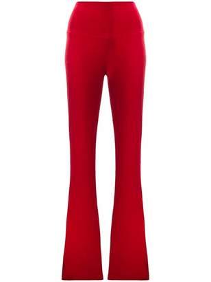 Norma Kamali high waist trousers