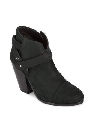 Rag & Bone Women's Cap Toe Leather Booties