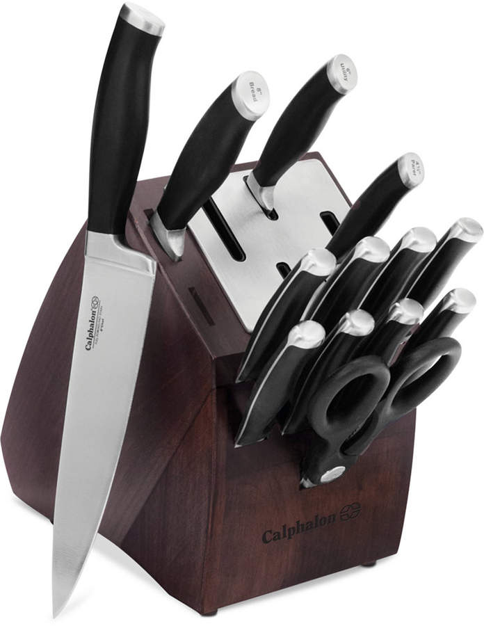 CalphalonCalphalon Contemporary SharpIN Self-Sharpening 14-Pc. Cutlery Set