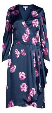 Joie Miltona Floral Wrap Dress