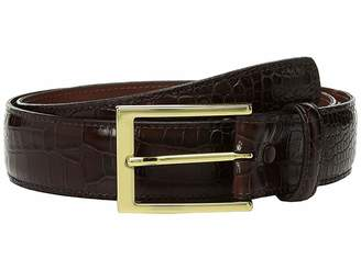 Torino Leather Co. 35mm Gator Grain Embossed Calf Men's Belts