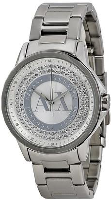 Armani Exchange Julietta Silver Dial Stainless Steel Ladies Watch