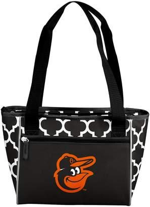Logo Brand Baltimore Orioles 16-Can Cooler Tote