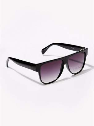 Jeepers Peepers Mens Black Frame Pink Lens Sunglasses*