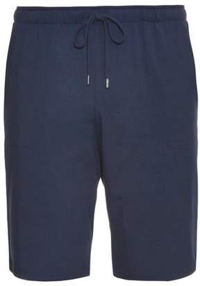 Derek Rose Marlowe Jersey Pyjama Shorts - Mens - Blue