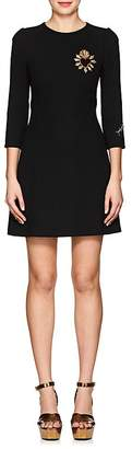 Dolce & Gabbana Women's Embellished Virgin Wool Sheath Dress