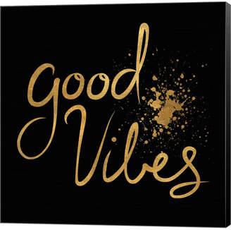 Braun Metaverse Good Vibes By Lisa Powell Canvas Art