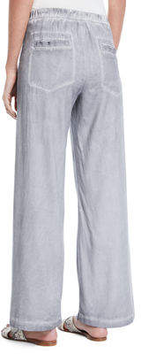 XCVI Holden Wide-Leg Utility Pocket Pants