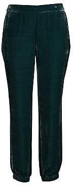 Eileen Fisher Women's Velvet Ankle Pants