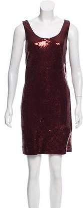 Nicole Miller Sequin Sleeveless Dress