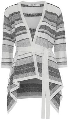Max Mara Striped Knitted Cardigan