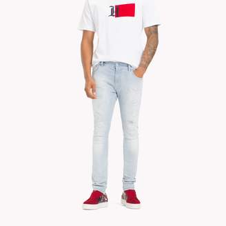 Tommy Hilfiger Lewis Hamilton Distressed Jeans