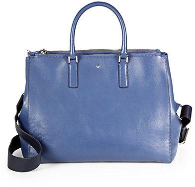 Anya Hindmarch Ebury Capra Shoulder Bag