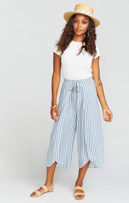 Show Me Your Mumu Limbo Pants ~ She Sails Stripe Flux
