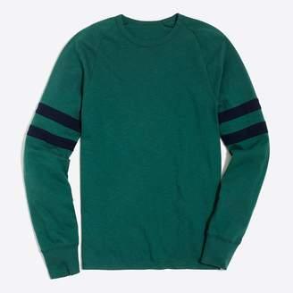 J.Crew Factory Slim double-striped football T-shirt