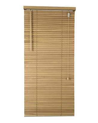 Fashion World Wooden Venetian Natural Blind 25mm Slats
