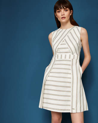 TEE Cross front dress