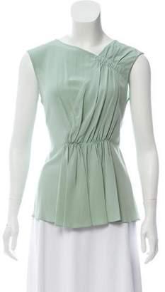 Marni Silk Sleeveless Blouse