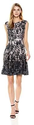 Julian Taylor Women's Chandelier Printed Lace Dress