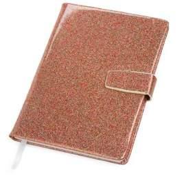 Bari Lynn Glitter Softcover Notebook
