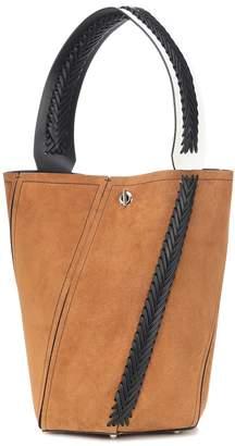 Proenza Schouler Hex Medium suede bucket bag