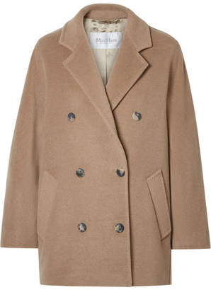Max Mara Oversized Double-breasted Camel Hair Coat